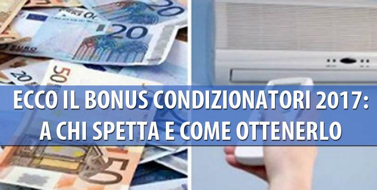 bonus condizionatori 2017 - seters - impianti elettrici